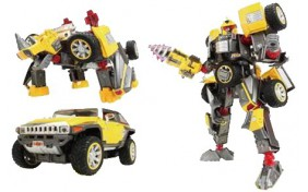 Робот-трансформер V-CREATE - Hummer HX - 1:24