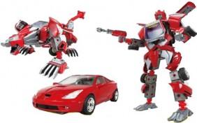 Робот-трансформер V-CREATE - Toyota Celica - 1:24