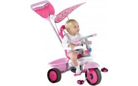 Велосипед Smart Trike Fresh NEW 3-в-1 розово-белый
