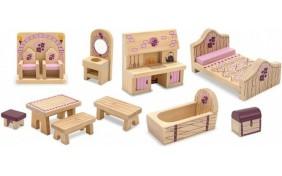 Набор мебели для замка принцессы Melissa & Doug