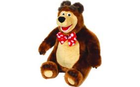 """Мягкая игрушка Мишка """"Маша и Медведь"""" 3 сказки Мульти-Пульти"""