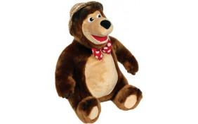 """Мягкая игрушка Мишка в шляпе """"Маша и Медведь"""" Мульти-Пульти"""