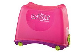 Ящик для игрушек 4-в-1 TOY BOX PINK TRUNKI