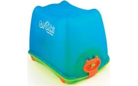 Ящик для игрушек 4-в-1 TOY BOX BLUE TRUNKI