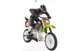 Радиоуправляемый двухколесный мотоцикл Psycho Cycle Bike