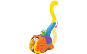 Игрушка-каталка Слон-циркач Kiddieland