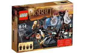 Побег от пауков Сумрачного леса Lego The Hobbit