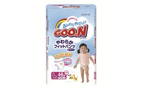 Подгузники-трусики Goo.N - для девочек