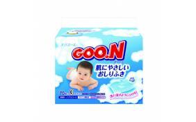 Влажные салфетки для младенцев Goo.N - мягкая упаковка