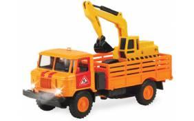 Игровой набор Технопарк - ГАЗ-66 строительный с бульдозером
