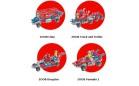 Варианты сборки ZOOB Cruiser, с радио управлением