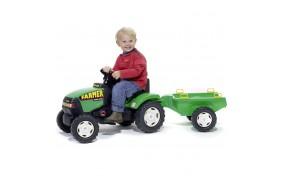Трактор с прицепом Falk Фермер