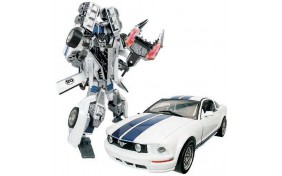 Робот-трансформер Roadbot - Ford FR 500C Mustang - 1:24