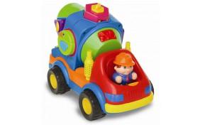 Игрушка на колесах Kiddieland Бетономешалка-сортер