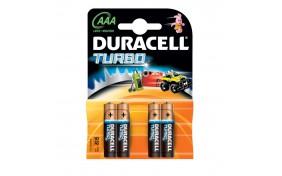 Батарейка Duracell (AAA) LR-3 2400 TURBO - 4 шт