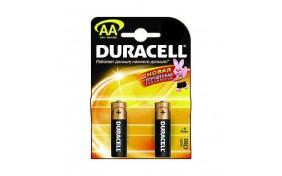 Батарейка Duracell (AA) LR-6 1500 NEW - 2 шт