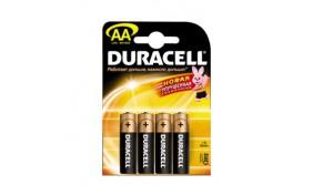 Батарейка Duracell (AA) LR-6 1500 NEW - 4 шт