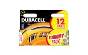 Батарейка Duracell (AA) LR-6 1500 NEW - 12 шт