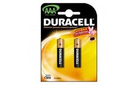 Батарейка Duracell (AAA) LR-3 2400 NEW - 2 шт