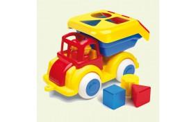 Грузовик с 2 фигурками и кубиками Viking Toys, 25 см