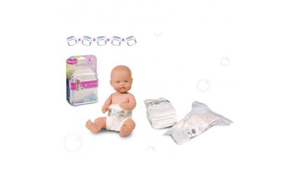 Подгузники для куклы Nenuco 5 шт - Серия Ненуко - ToysTi.me - Интернет-магазин игрушек