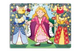 Рамка-вкладыш Melissa & Doug Одень принцессу