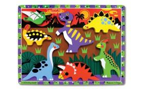 Рамка-вкладыш Melissa & Doug Динозавры