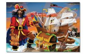 Пазл Пиратские  сокровища Melissa & Doug 100 элементов