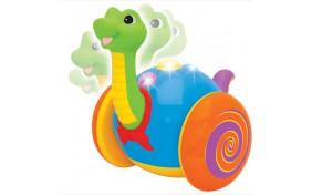 Игрушка-каталка Kiddieland Весёлый динозаврик