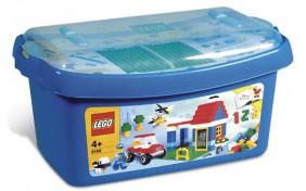 Большая коробка с кубиками Lego