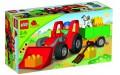 Большой трактор Lego Duplo