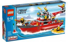 Пожарный катер Lego City