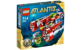 Субмарина Тайфун Турбо Lego Atlantis