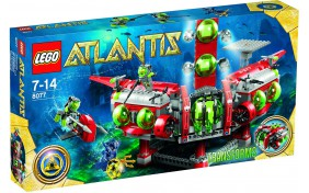Штаб-квартира исследователей Lego Atlantis