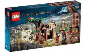 Побег от каннибалов Lego Pirates of the Caribbean