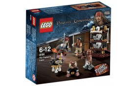 Каюта капитана Lego Pirates of the Caribbean