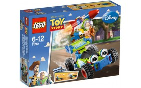 Вуди и Баз спешат на помощь Lego Toy Story