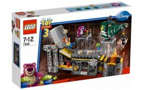 Спасение из Мусороуплотнителя Lego Toy Story
