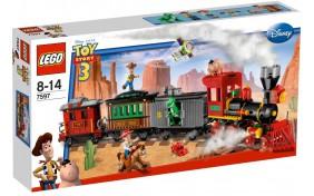Ковбойское преследование поезда Lego Toy Story