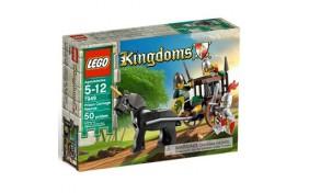 Погоня за повозкой с пленником Lego Kingdoms
