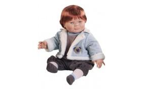 Кукла Paola Reina Адриано с сопельками под носом - 50см