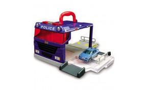 Игровой набор Bburago - ПОЛИЦИЯ (переносной, одна машинка)