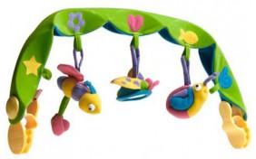Музыкальная дуга Tiny Love для автокресла и коляски - Тропики Green