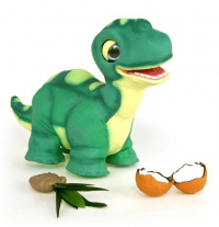 Акция! Купи динозаврика и получи аккумулятор в подарок.